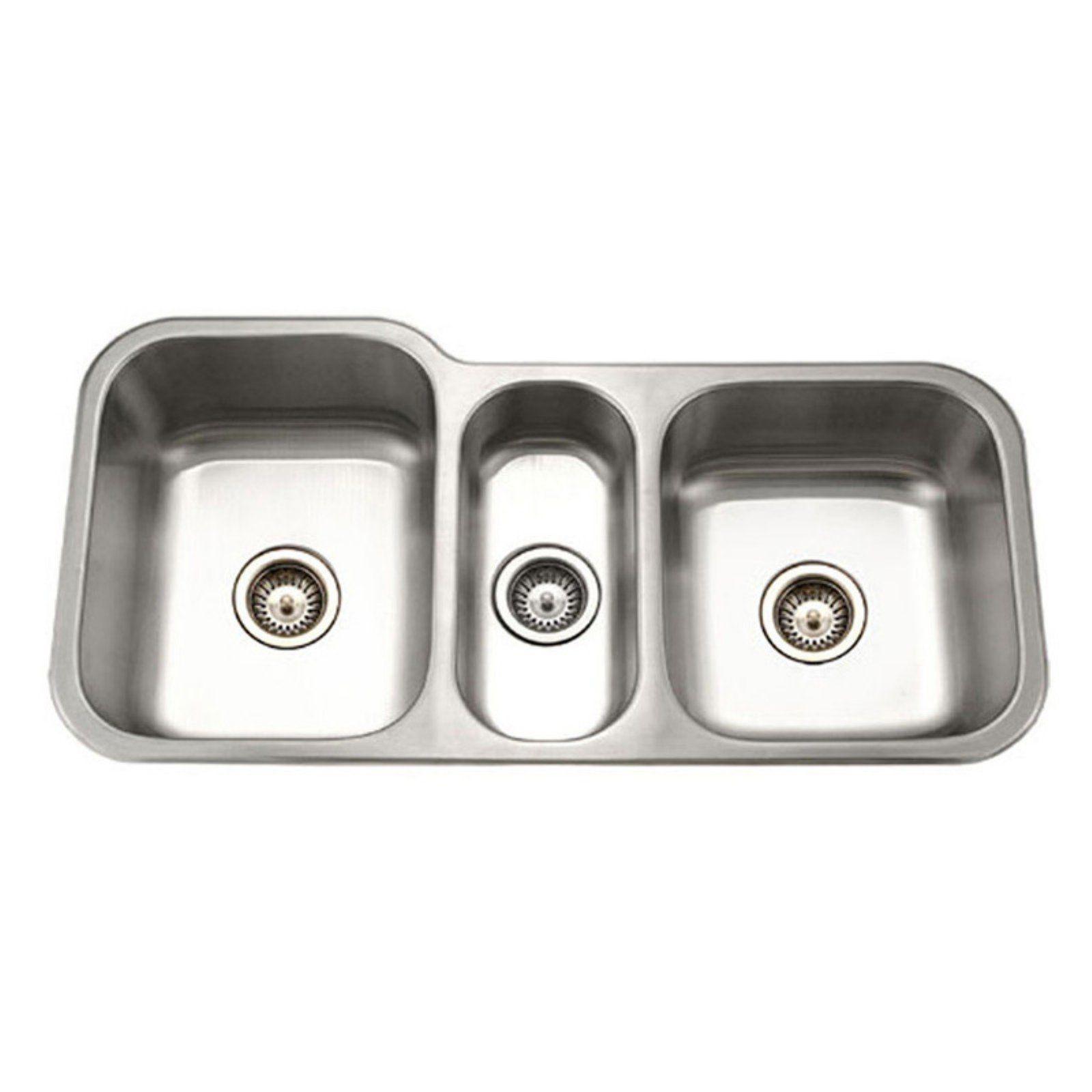 Houzer Medallion Gourmet Mgt 4120 1 Undermount Kitchen Sink