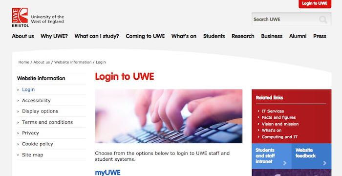 Uwe Sign In Uwe Ac Uk Email And Blackboard Signs Login