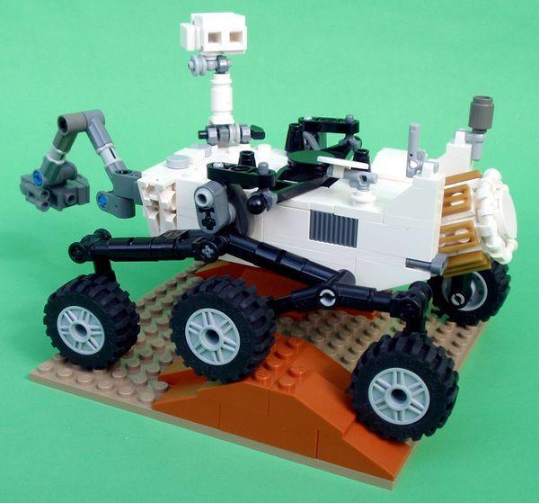 LEGO anuncia un modelo del rover Curiosity de la NASA
