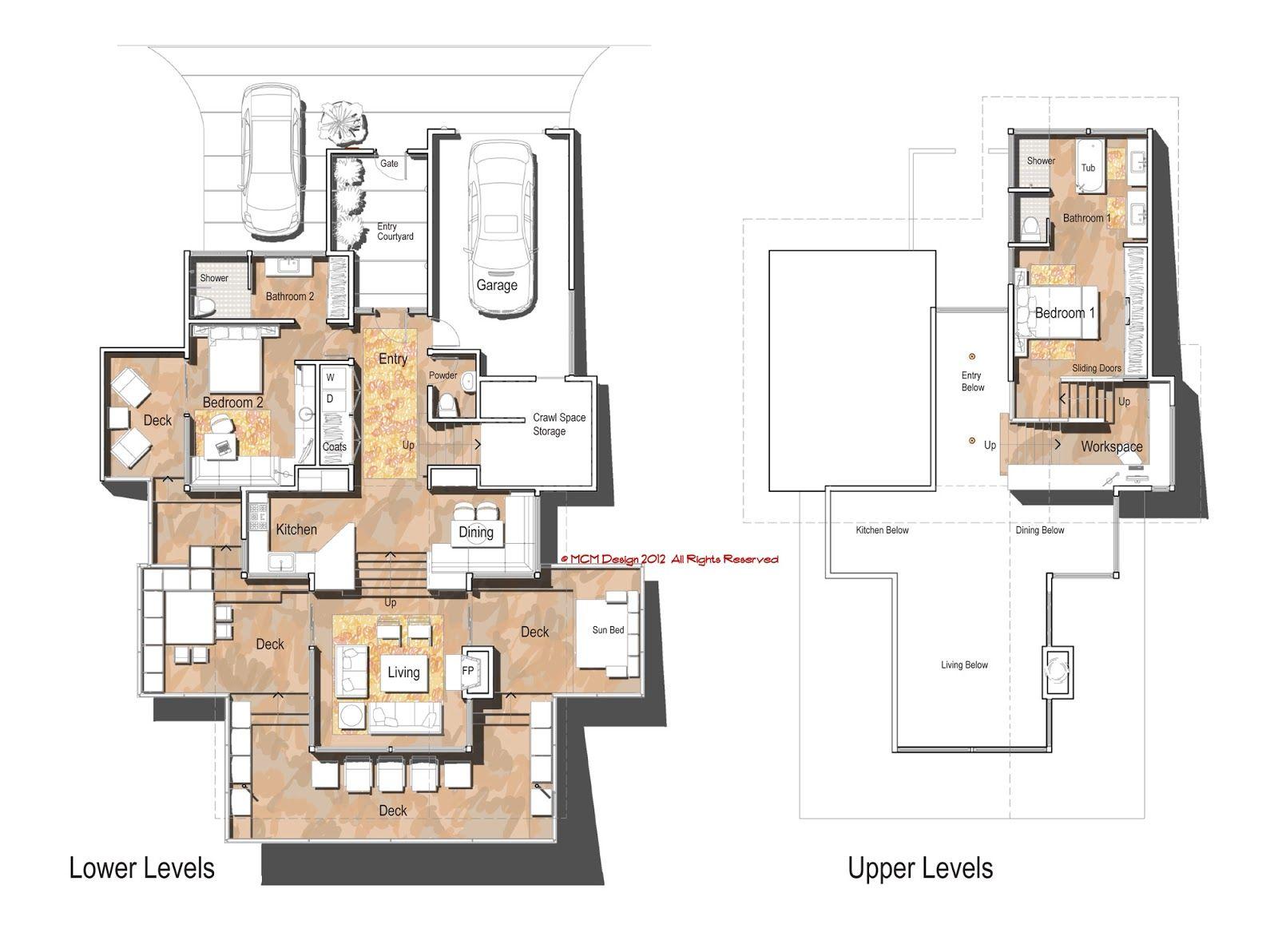 Contemporary House Floor Plans Gorgeous 19 MCM DESIGN Modern House