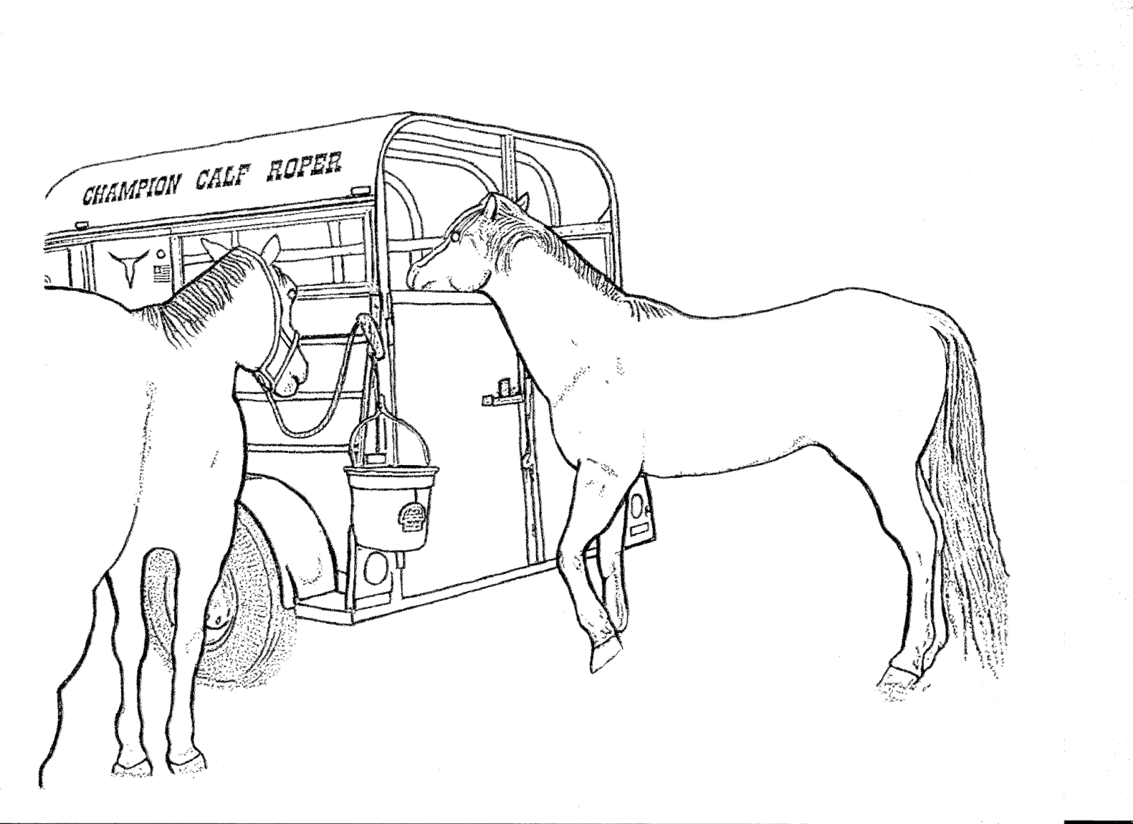 Coloring pages princess riding horse