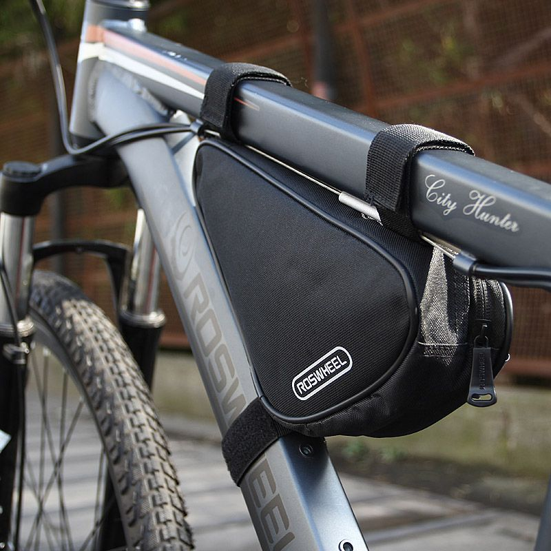 Tube Frame Bag Bike pouch Accessories Triangular Small Gear Front Quick release