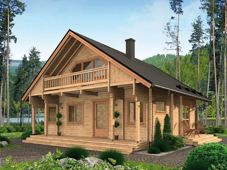 19++ Ferienhaus aus holz bauen 2021 ideen