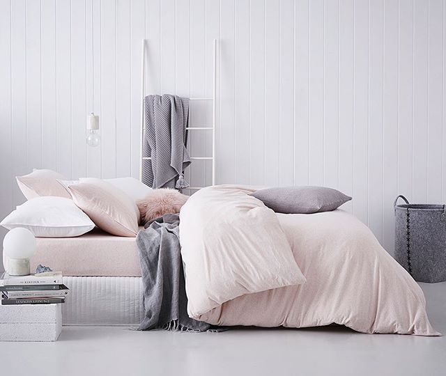 23 Best Copper And Blush Home Decor Ideas And Designs For 2019: Bed Linen, Sheet Sets, Quilts, Cushions