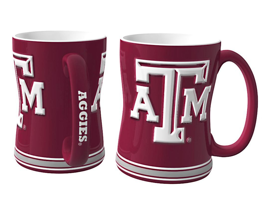 NCAA Oklahoma Sooners Ceramic Relief Logo Mug