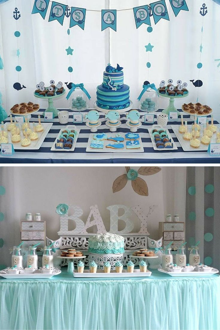 Baby shower gar on 10 id es d co tout en bleu pinteres for Idee deco slaapkamer baby meisje