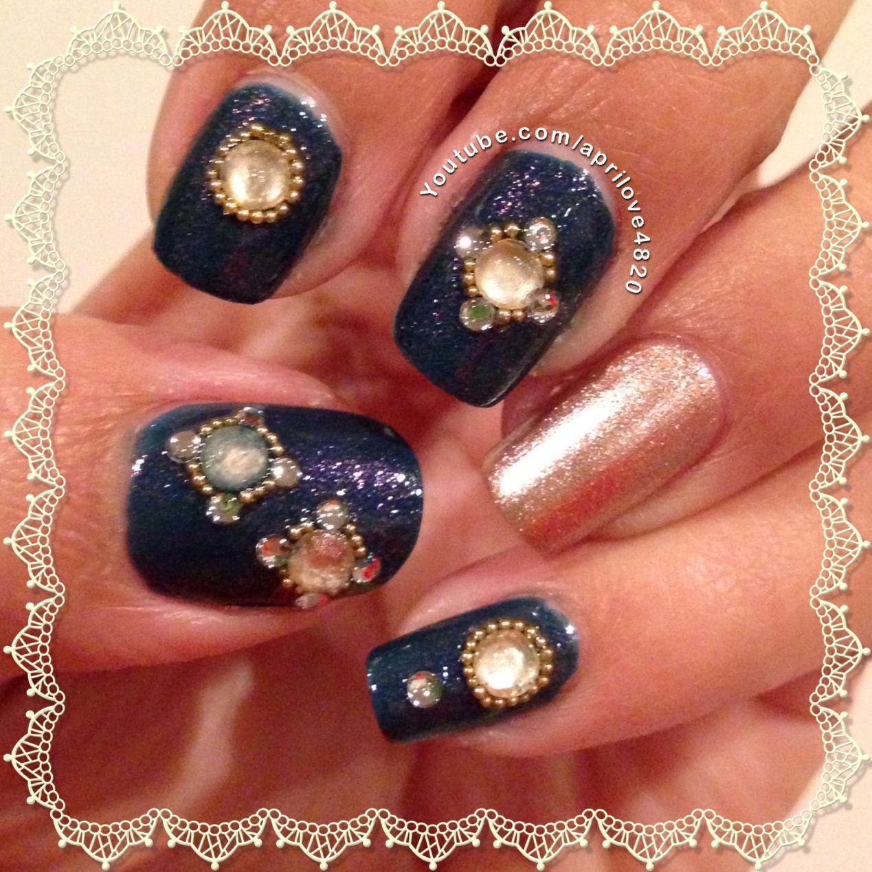 Girly Nail Art: Girly Nails #holiday NAils #nail Art #nails #girly Nails