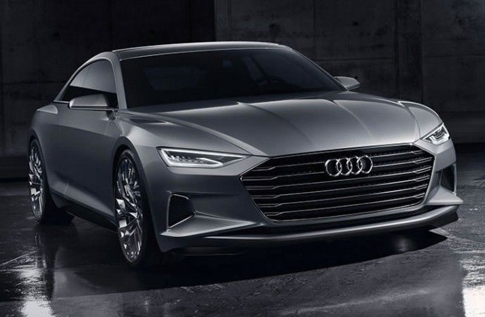 Audi Prologue Concept Is A Two Door Flagship Developed To Rival The Mercedes S Cl Coupe