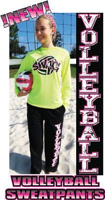 Really want the sweats and shirt! Live and love volleyball! :) <3