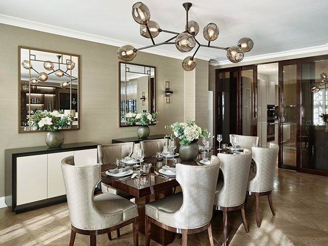 Websta laurahammett interiors the dining room at our masculine knightsbridge apartment interiorarchitecture