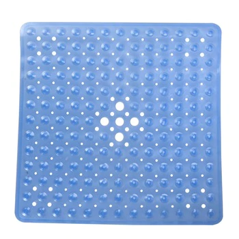 Bath Non Slip Mat Square Bath Shower Safety Mats Anti Bacterial Mildew Resistant Antiskid In 2020 Non Slip Shower Mat Memory Foam Bathroom Mat Shower Bath Mats