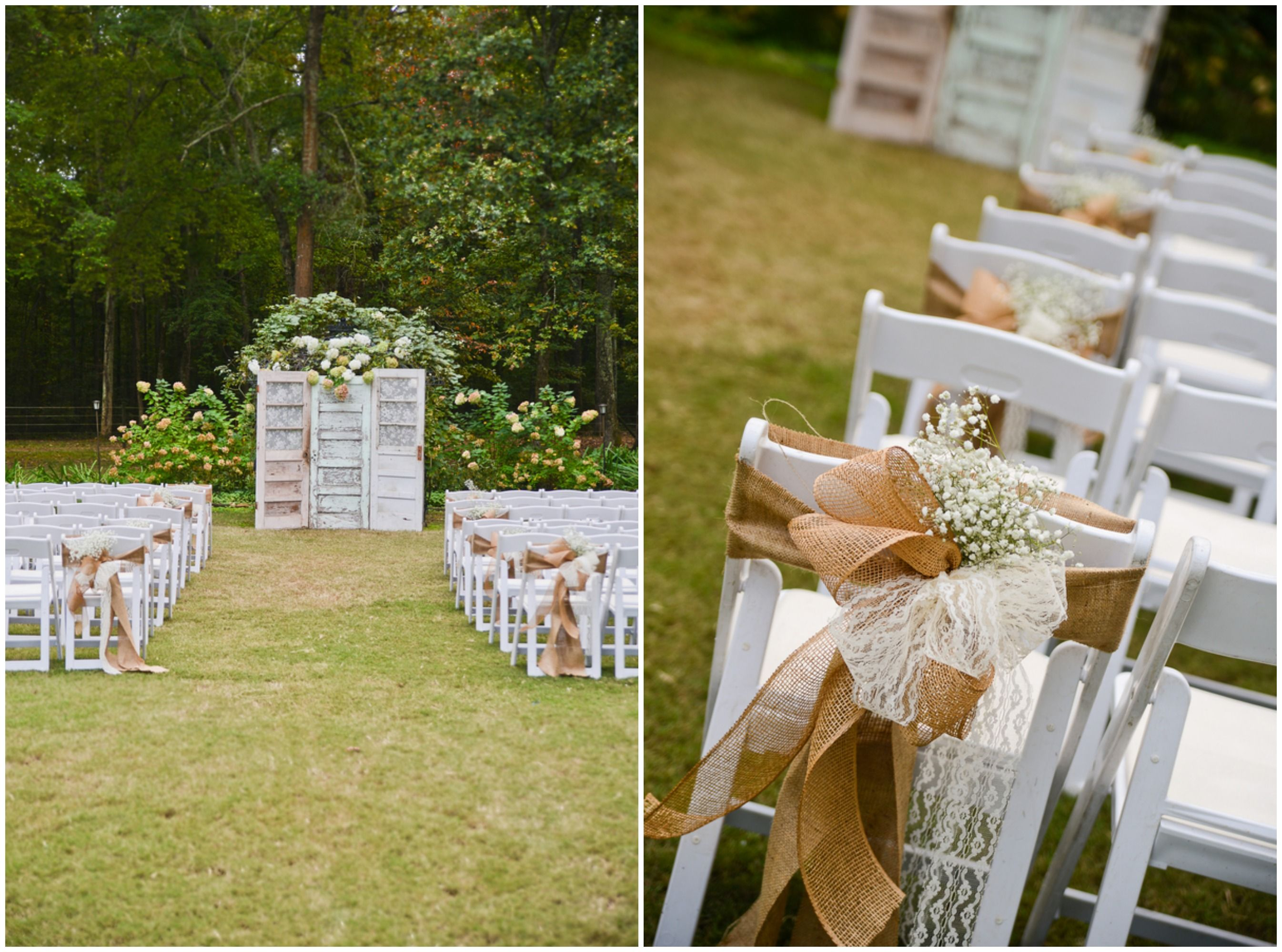 Southern farm wedding in alabama country weddings decoration and outdoor country wedding ceremony decorations junglespirit Choice Image