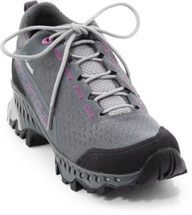 fe130c1bb3d La Sportiva Women's Spire GTX Hiking Shoes Carbon/Purple 43 EU ...