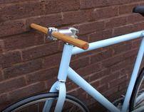 Wooden handlebars by Malet Thibaut, via Behance