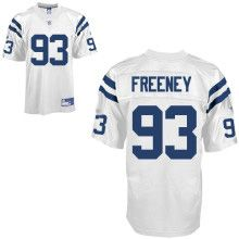 Indianapolis Colts #93 Dwight Freeney White