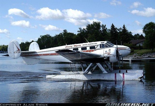 Rusty Myers Flying Service, Beech 18S (C-FZRI) at Fort Frances SPB (CJM8) Ontario July 2006