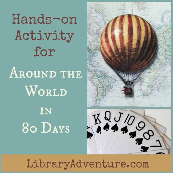 Hands On Activity For Around The World In 80 Days The Library