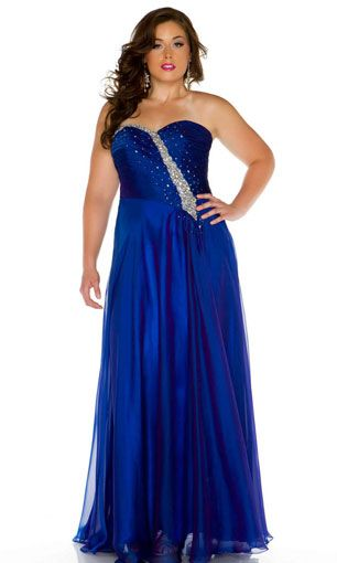 5df10da451a plus size prom dress
