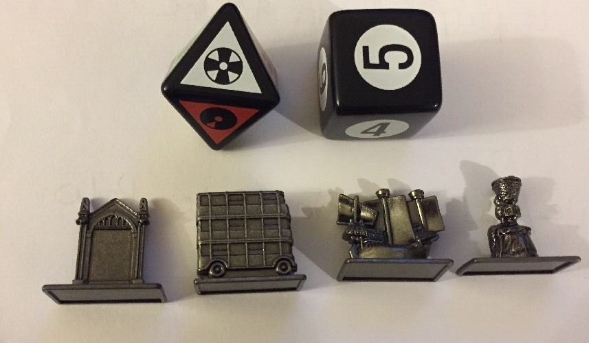Scene It? 2nd Edition HARRY POTTER Pewter Tokens Movers Replacement Crafts #ScreenLife