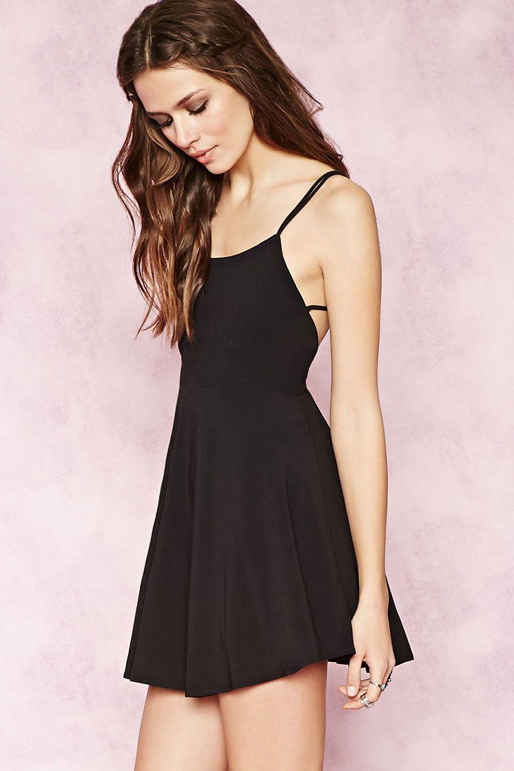 Crisscross-Back Cami Dress | Forever 21 - 2000151438 | Forever 21 ...