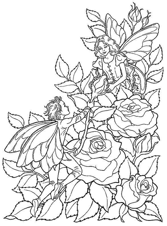 Desenhos para colorir e pintar para crianças Fantasia 17 | desenhos ...