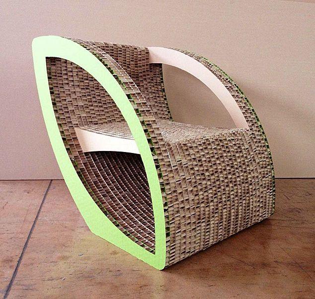 fauteuil carton pinterest fauteuils carton et. Black Bedroom Furniture Sets. Home Design Ideas