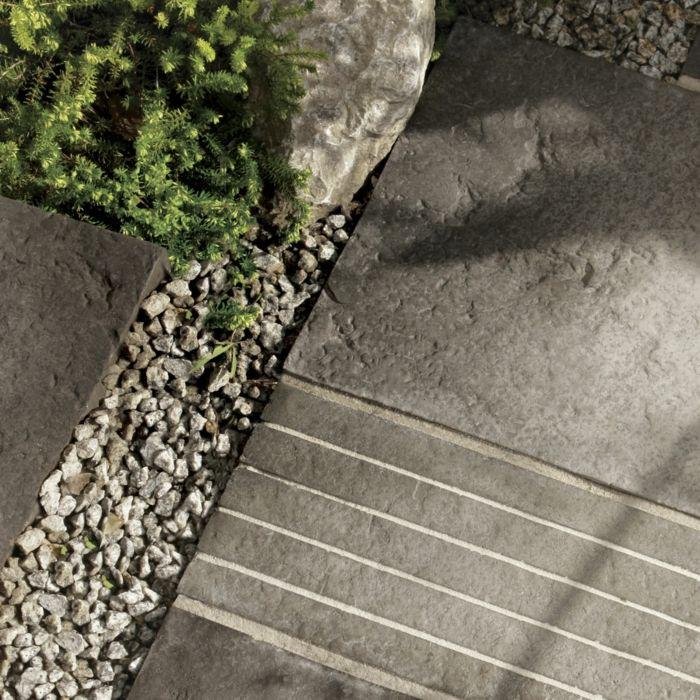 gartengestaltung mit stein garten gestalten vorgarten gestalten, Hause und Garten