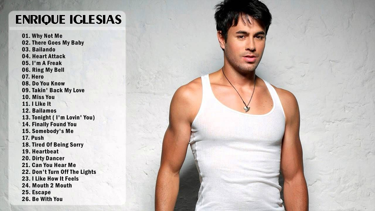 Enrique Iglesias Greatest Hits Full Album Best Songs