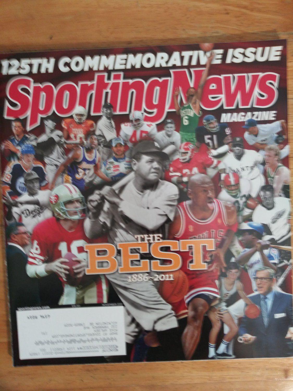 NOVEMBER+2011+SPORTING+NEWS+MAGAZINE in 2020 Sports