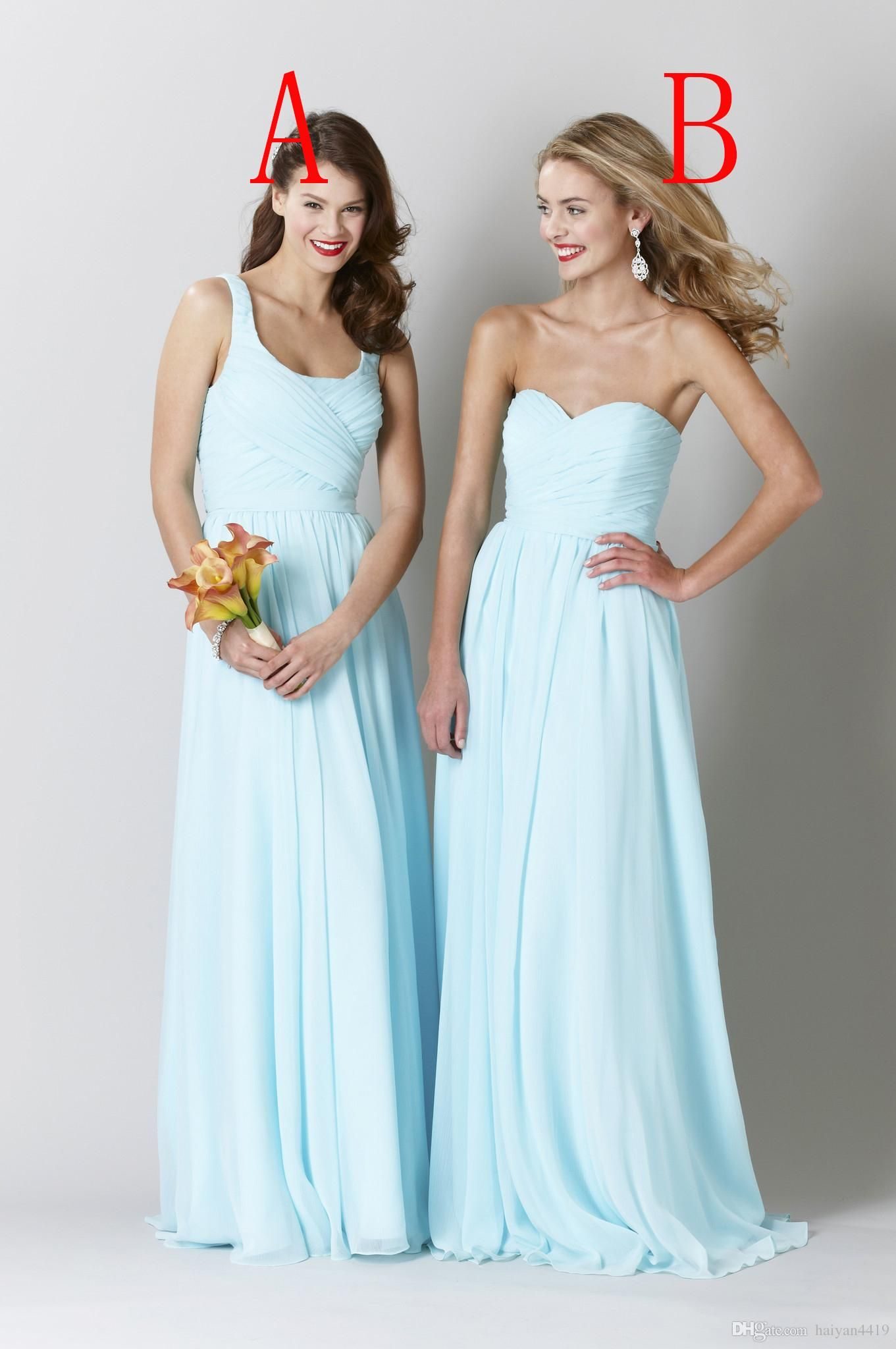 2016 cheap mint blue bridesmaid dresses sweetheart square neck 2016 cheap mint blue bridesmaid dresses sweetheart square neck wedding guest wear chiffon beach long sashes ombrellifo Choice Image