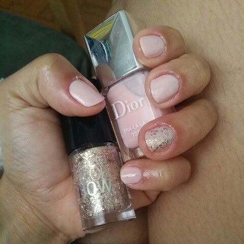 I did for this week! #Dior #Nails