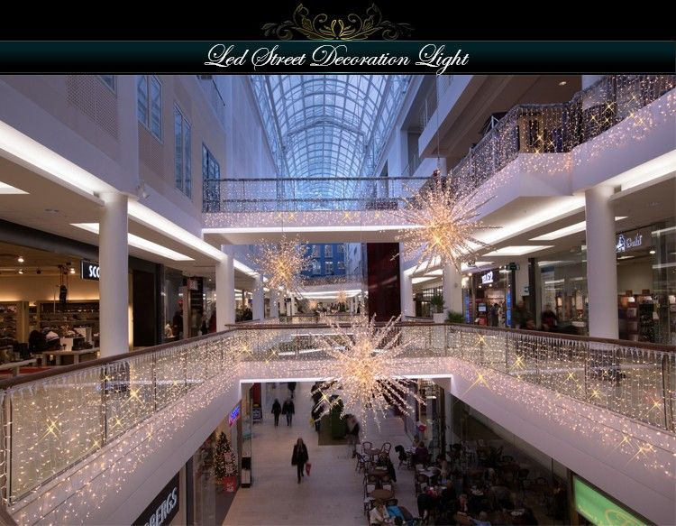 White Waterfall Led Curtain Light For Wall Shopping Mall View Led Curtain Led Curtain Lights Curtain Lights Entertainment Room Design