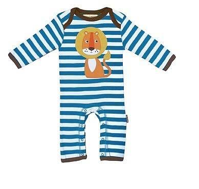 0591199a9db92 baby organic lion playsuit by lush baby | notonthehighstreet.com ...