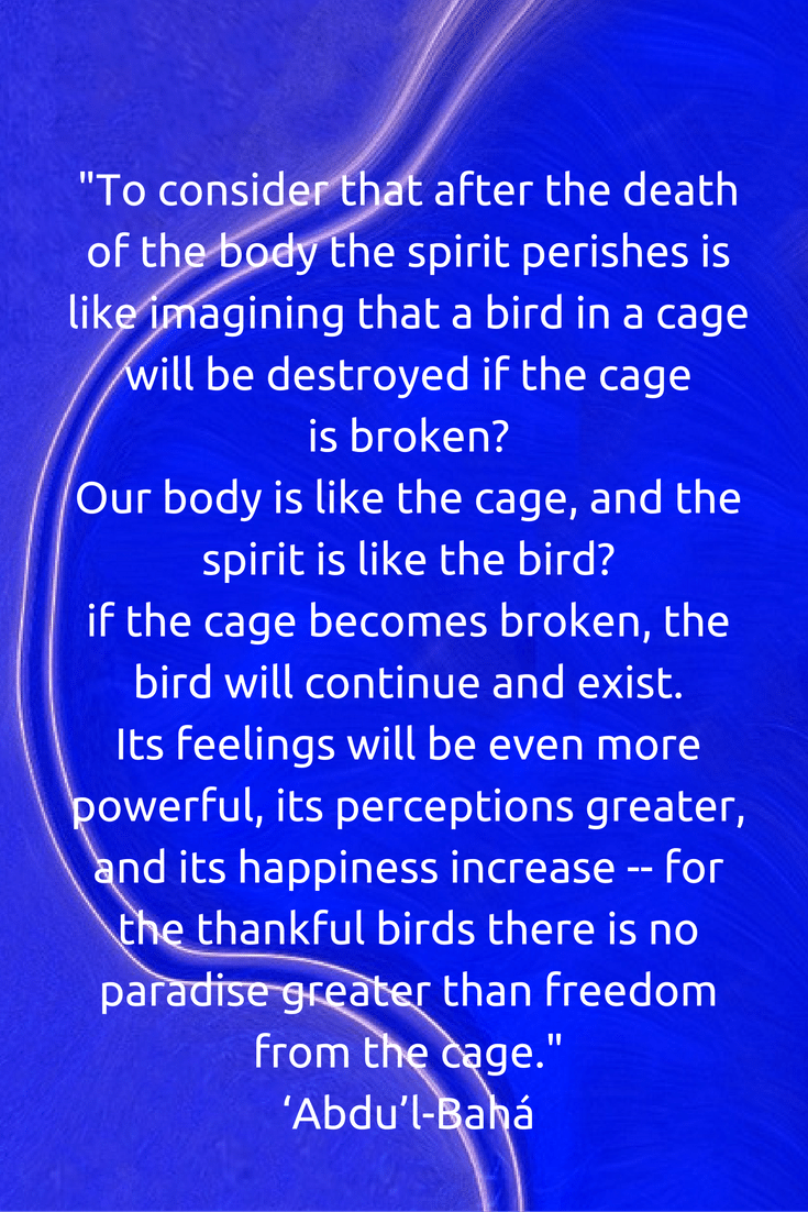 To Consider That After The Death Of The Body The Spirit Perishes I