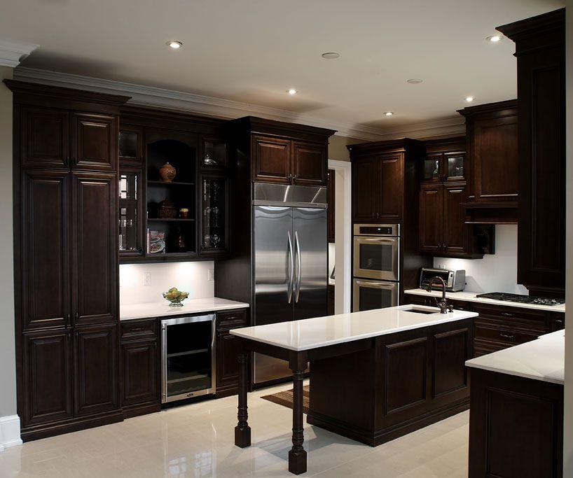 Villa Kitchens & Fine Cabinetry   Kitchen, Cabinetry, Dark ...