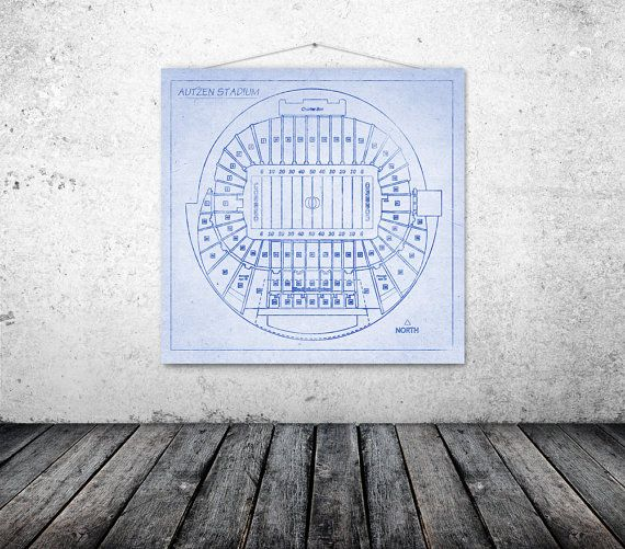 Autzen stadium university of oregon ducks campus football team autzen stadium university of oregon ducks campus football team seating chart blueprint on canvas sports field malvernweather Choice Image