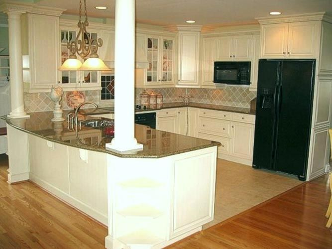 Image result for fiberglass decorative pillars for kitchen island