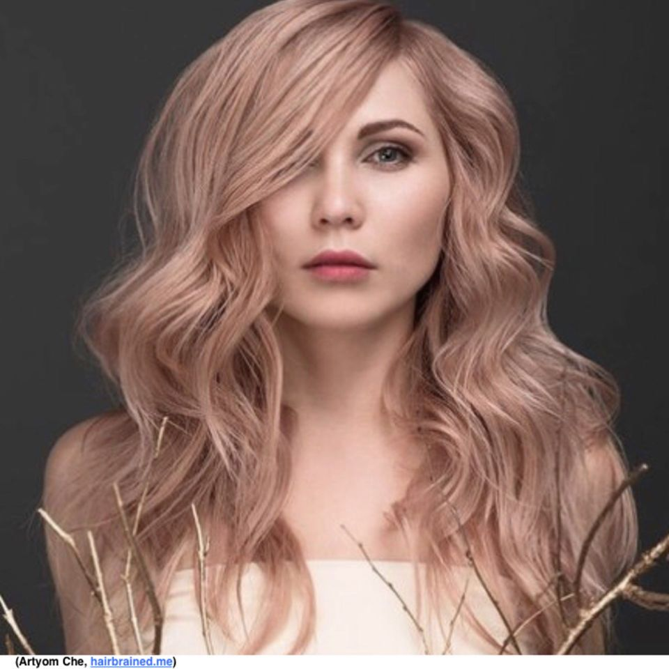 Check This Out Hair Color Inspiration Formulation Strawberry