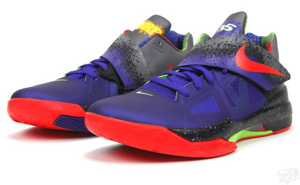 Nike Zoom KD IV Nerf...Probably the sickest shoes I ve seen 1e91703de