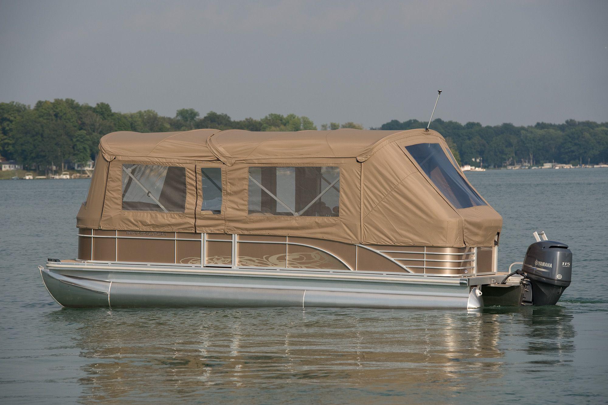 Aluminum Boat Enclosures : Bennington full camper enclosure quot life isn t about