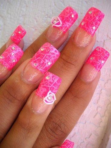 I love you - nailartgallery.nailsmag.com Nail Art Gallery by nailsmag.com