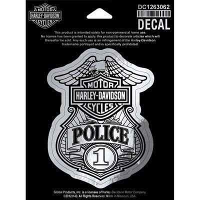 Police Decal Harley Davidson Police Decal Harley