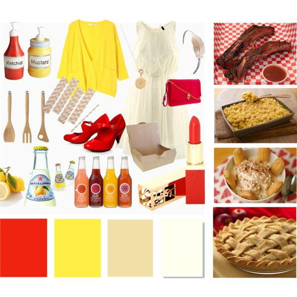 Ketchup and Mustard, created by myknotty.com