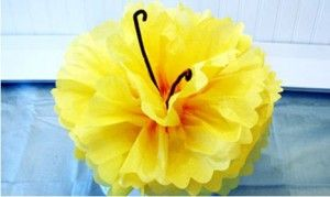 Tutorial On How To Make A Hibiscus Flower Out Of Tissue Paper