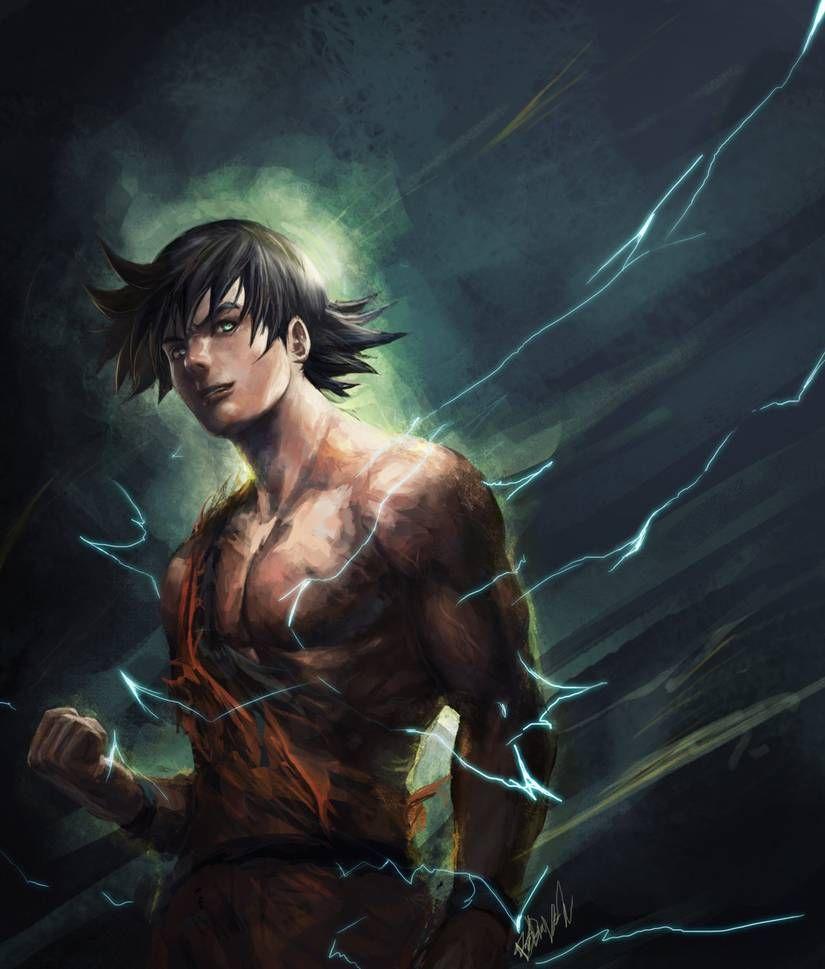 Goku By R Sraven On Deviantart In 2020 Dragon Ball Art Goku Art Goku