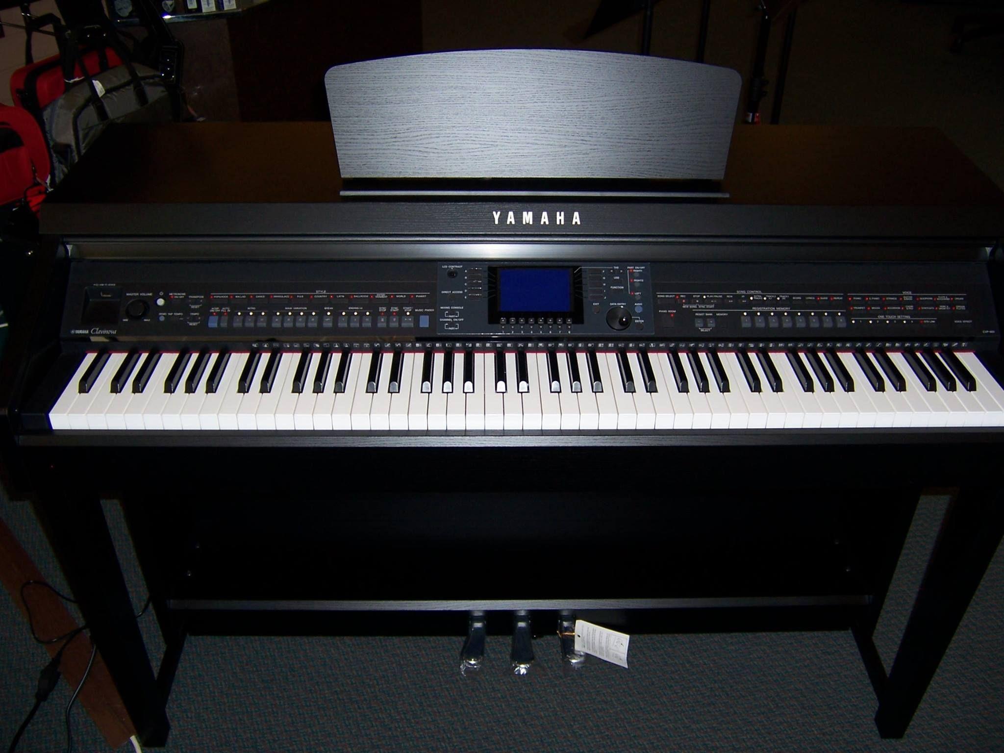 Yamaha clavinova cvp 601 at kincaid 39 s music 88 graded for Yamaha clavinova cvp 601