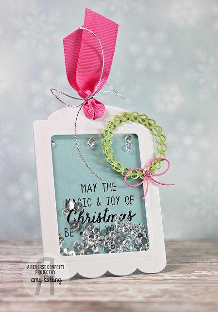 Reverse Confetti   November Release   Gift Card Holder Tag Confetti Cuts   Wreath Confetti Cuts   www.reverseconfetti.com