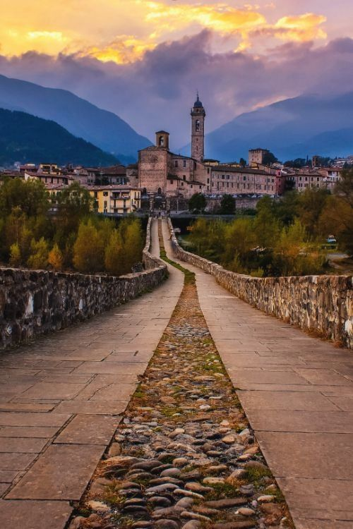°°Bobbio, a village near the city of Piacenza , the most beautiful Italian villages°°  #italyphotography