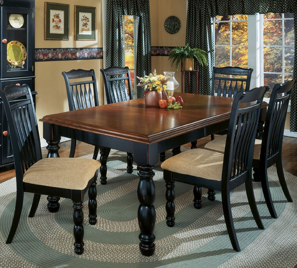 Ashley Cedar Heights Collection  My Set  Home Decorating Enchanting Tall Dining Room Sets 2018