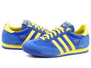 adidas dragon blue yellow
